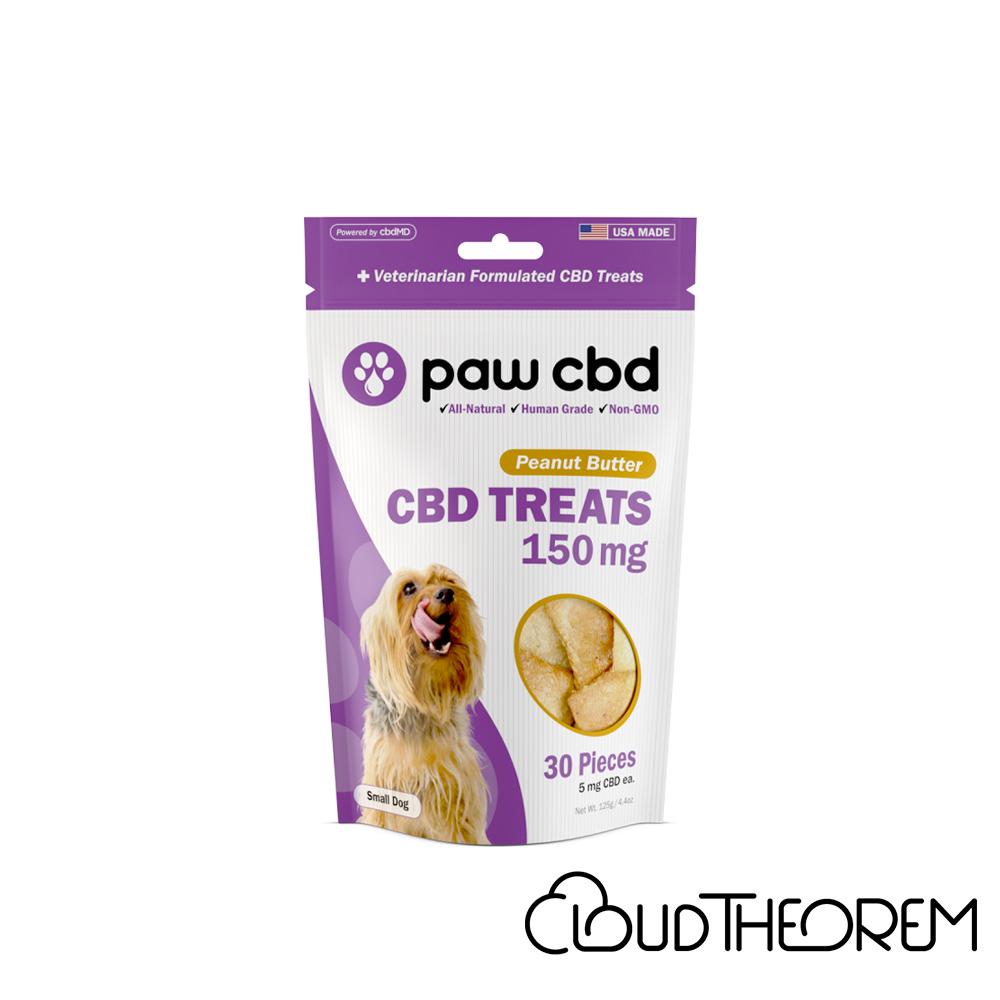 cbdMD CBD Pet Edible Peanut Butter Dog Treats Lab Report