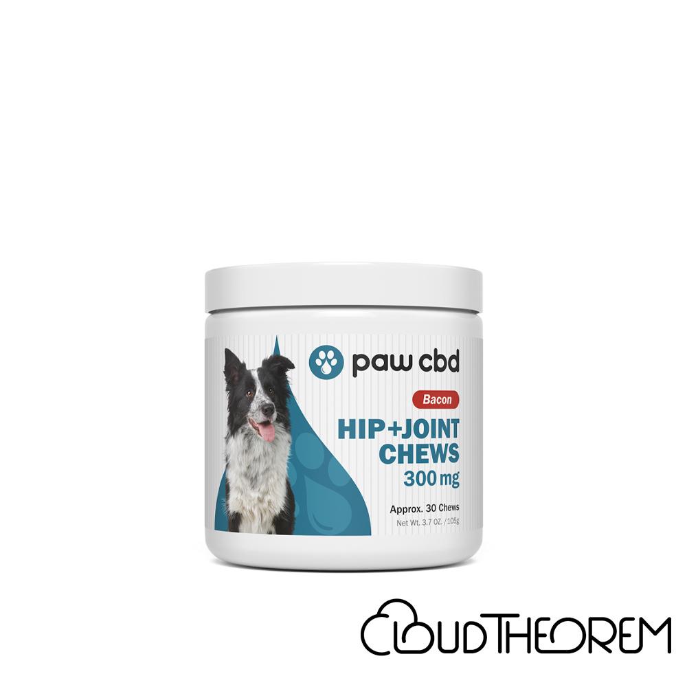 cbdMD CBD Pet Treats Bacon Canine Hip+Joint Chews Lab Report