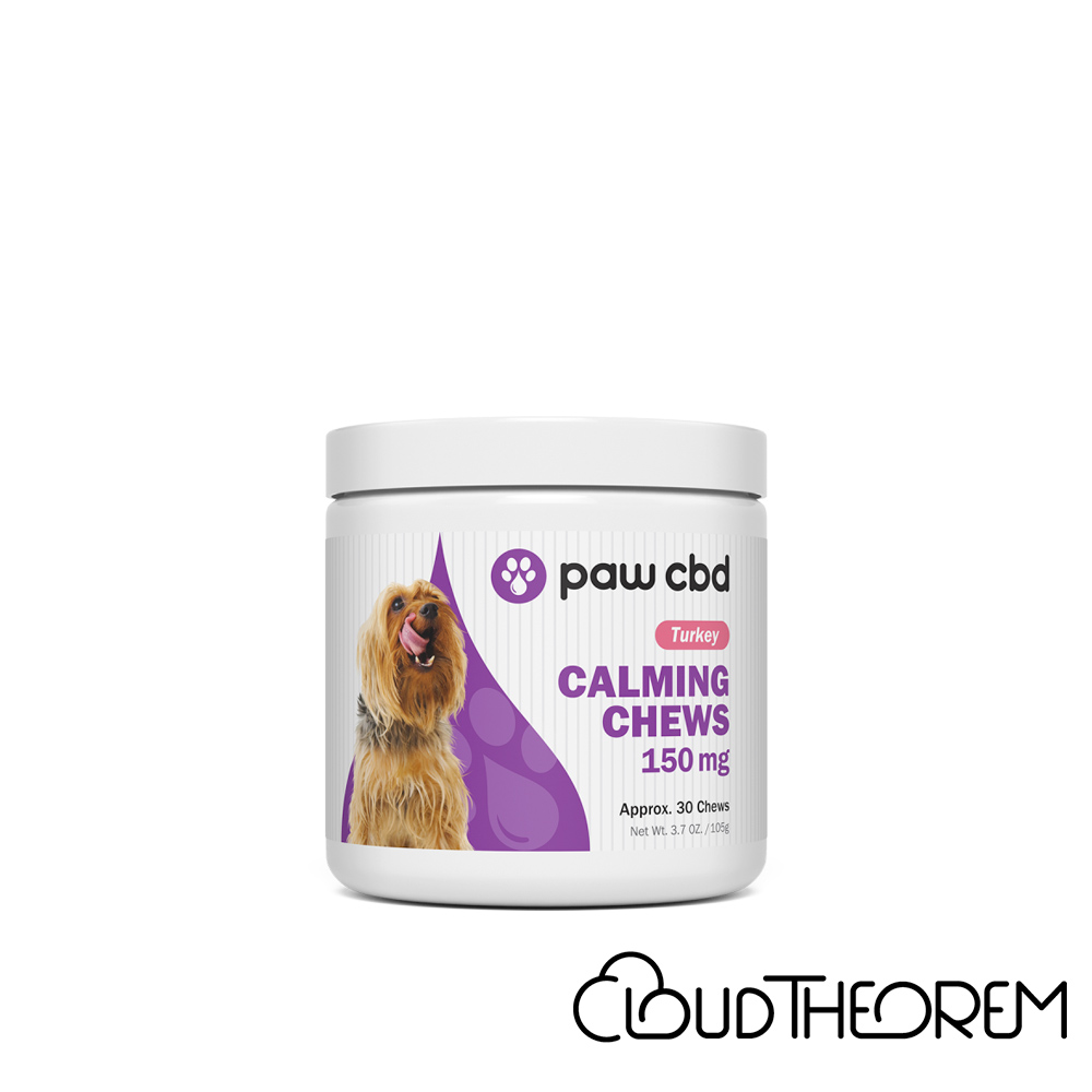 cbdMD CBD Pet Treats Turkey Canine Calming Chews Lab Report