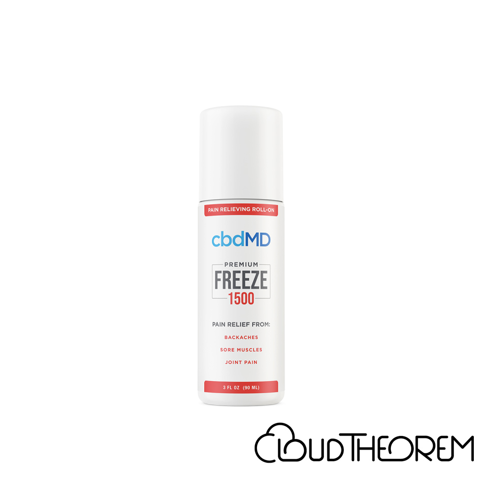 cbdMD CBD Topical Freeze Cold Therapy Lab Report