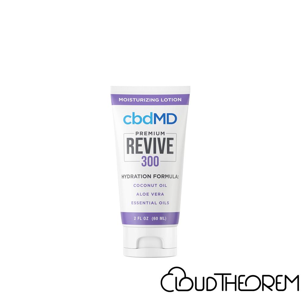 cbdMD CBD Topical Revive Moisturizing Lotion Lab Report