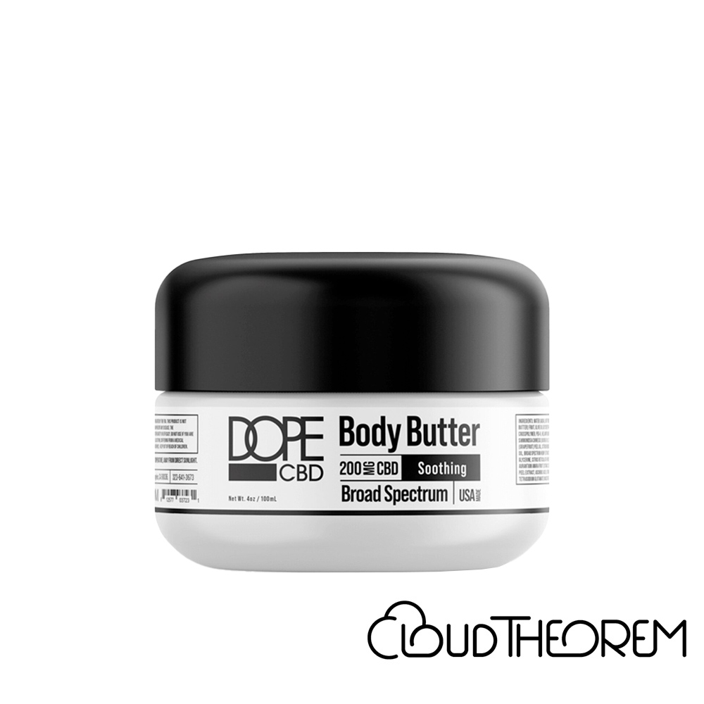 Dope CBD Topical Broad Spectrum Body Butter Lab Report