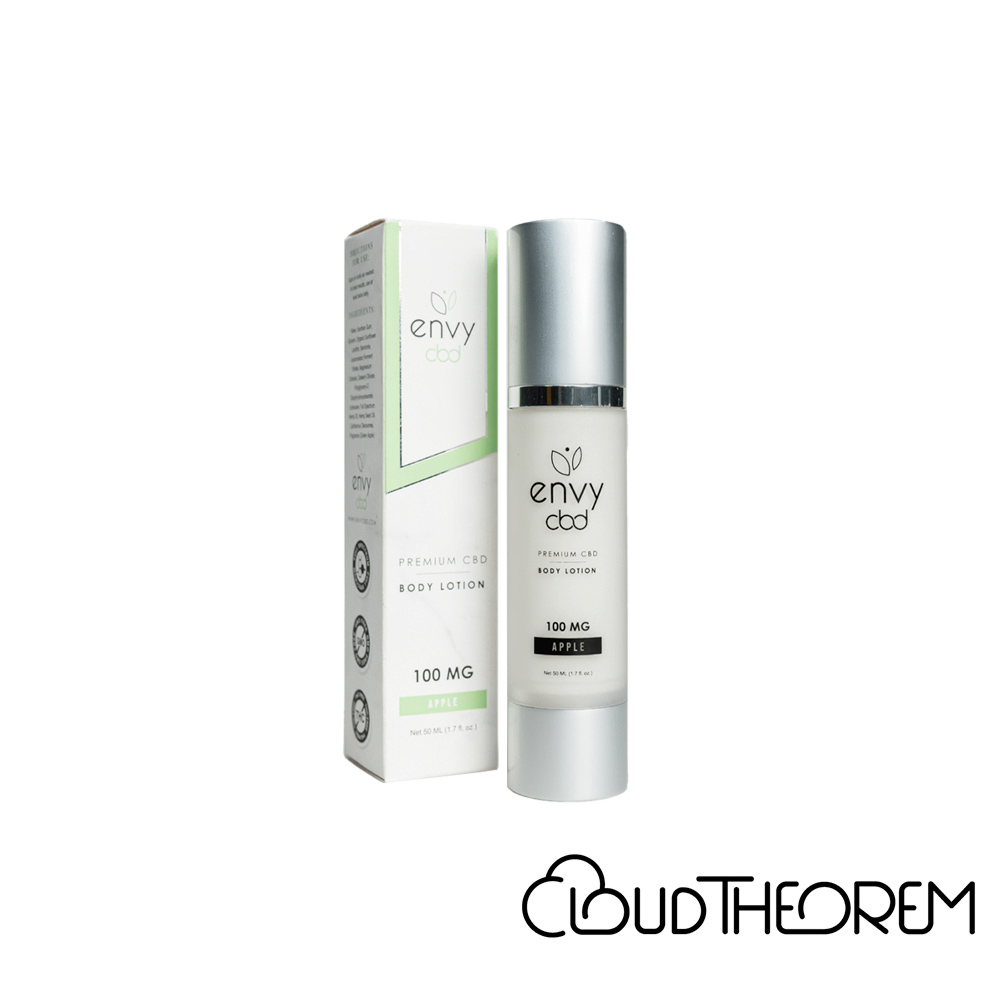 ENVY CBD Topical Green Apple Body Lotion Lab Report