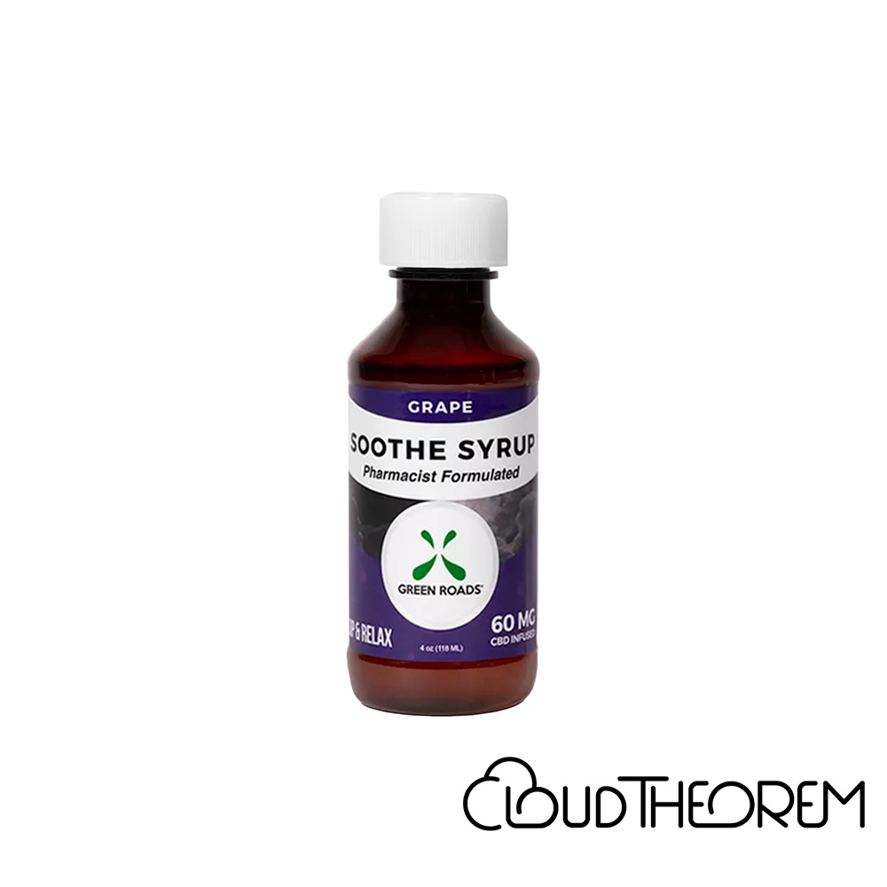 Green Roads CBD Drink Grape Soothe Syrup Lab Report