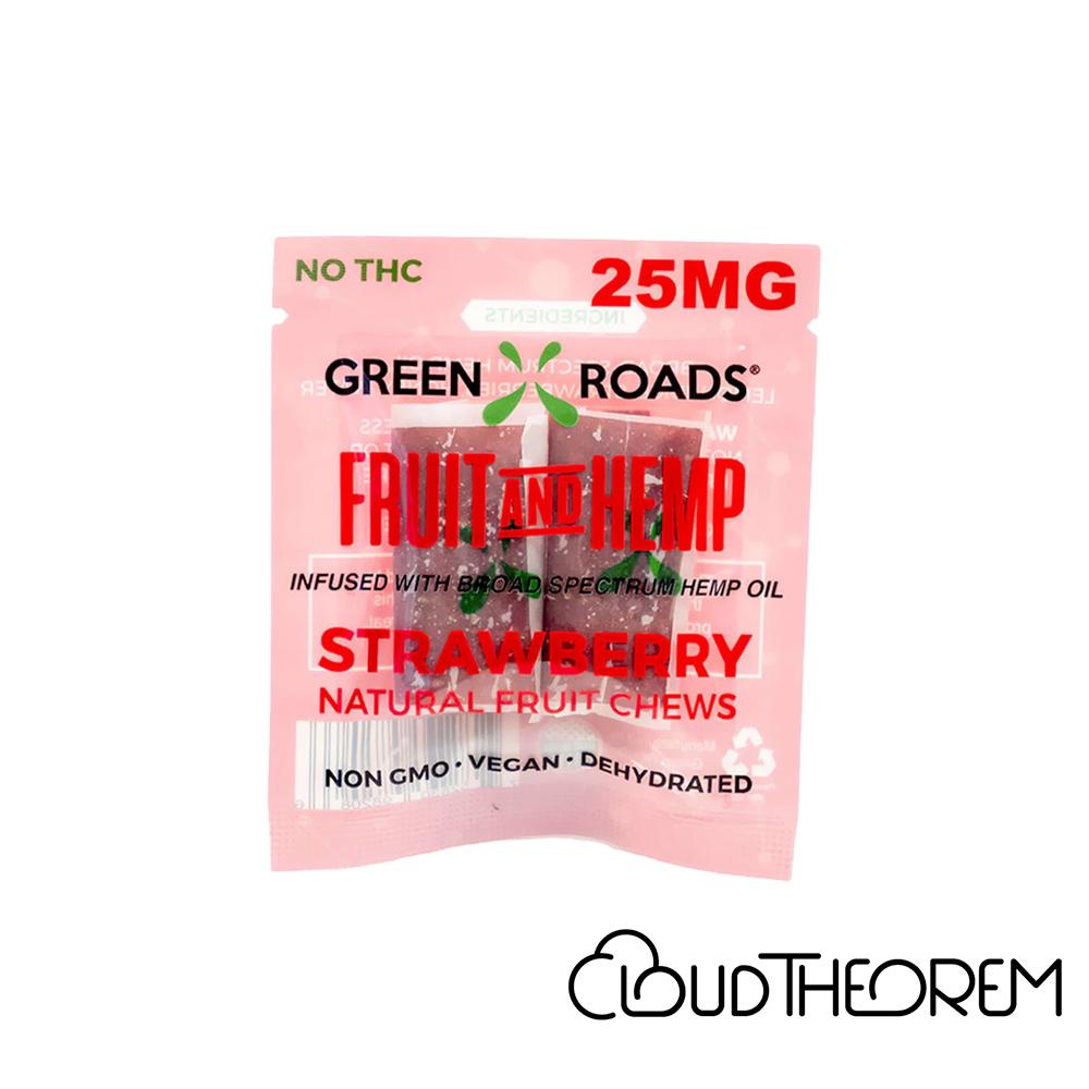 Green Roads CBD Edible Grape Fruit & Hemp OTG Lab Report