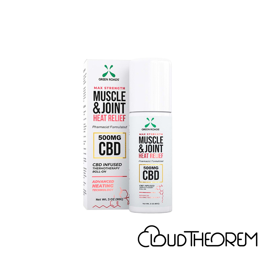 Green Roads CBD Topical Muscle & Joint Heat Relief Roll-On Lab Report