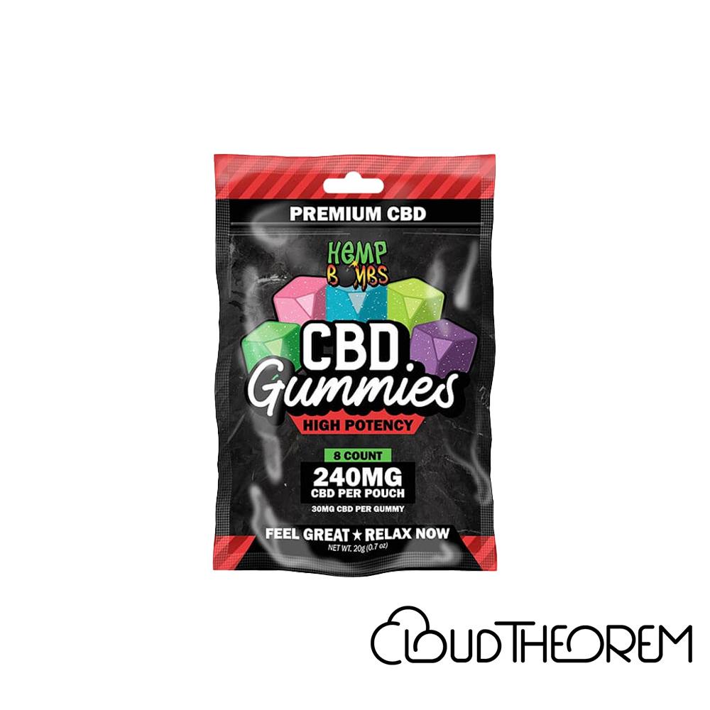 Hemp Bombs CBD Edible High Potency Gummies Lab Report