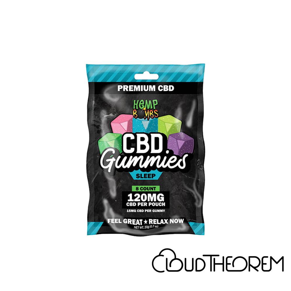 Hemp Bombs CBD Edible Sleep Gummies Lab Report