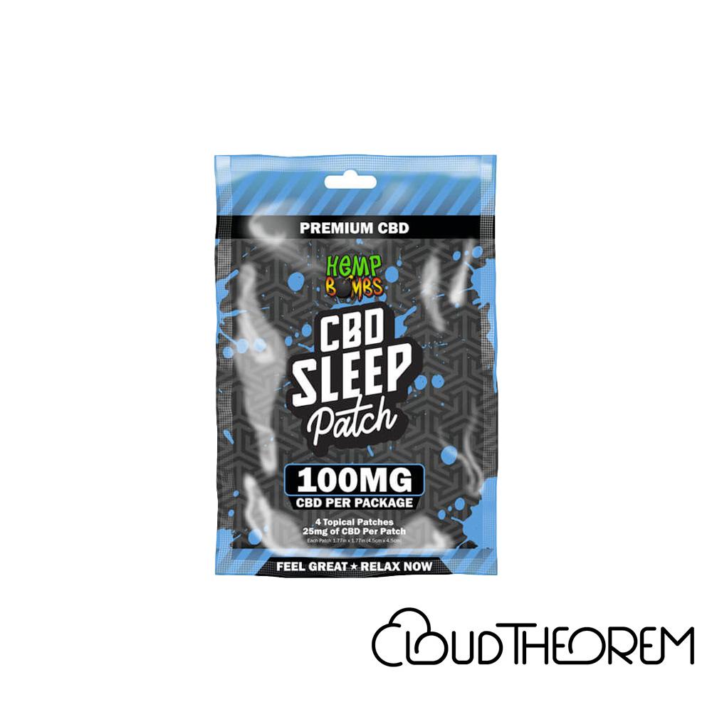 Hemp Bombs CBD Topical Sleep Patches Lab Report