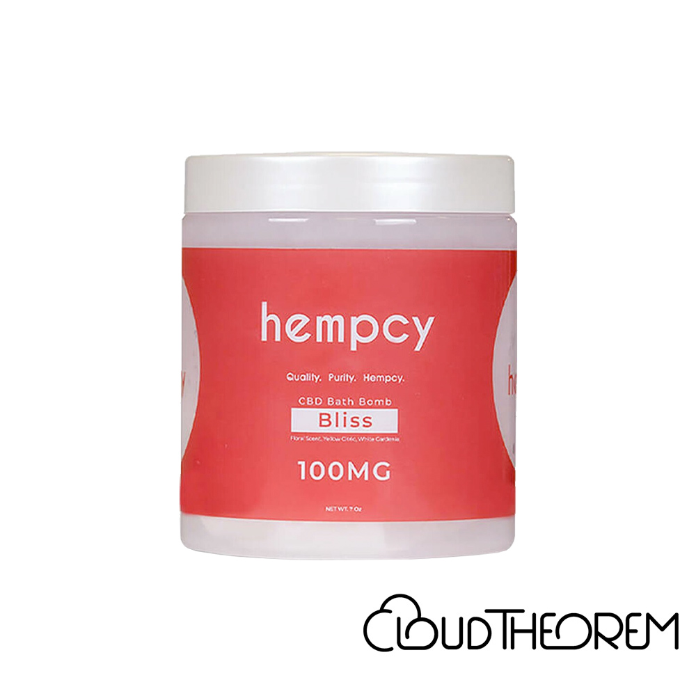 Hempcy CBD Bath Bliss Bath Bomb Lab Report