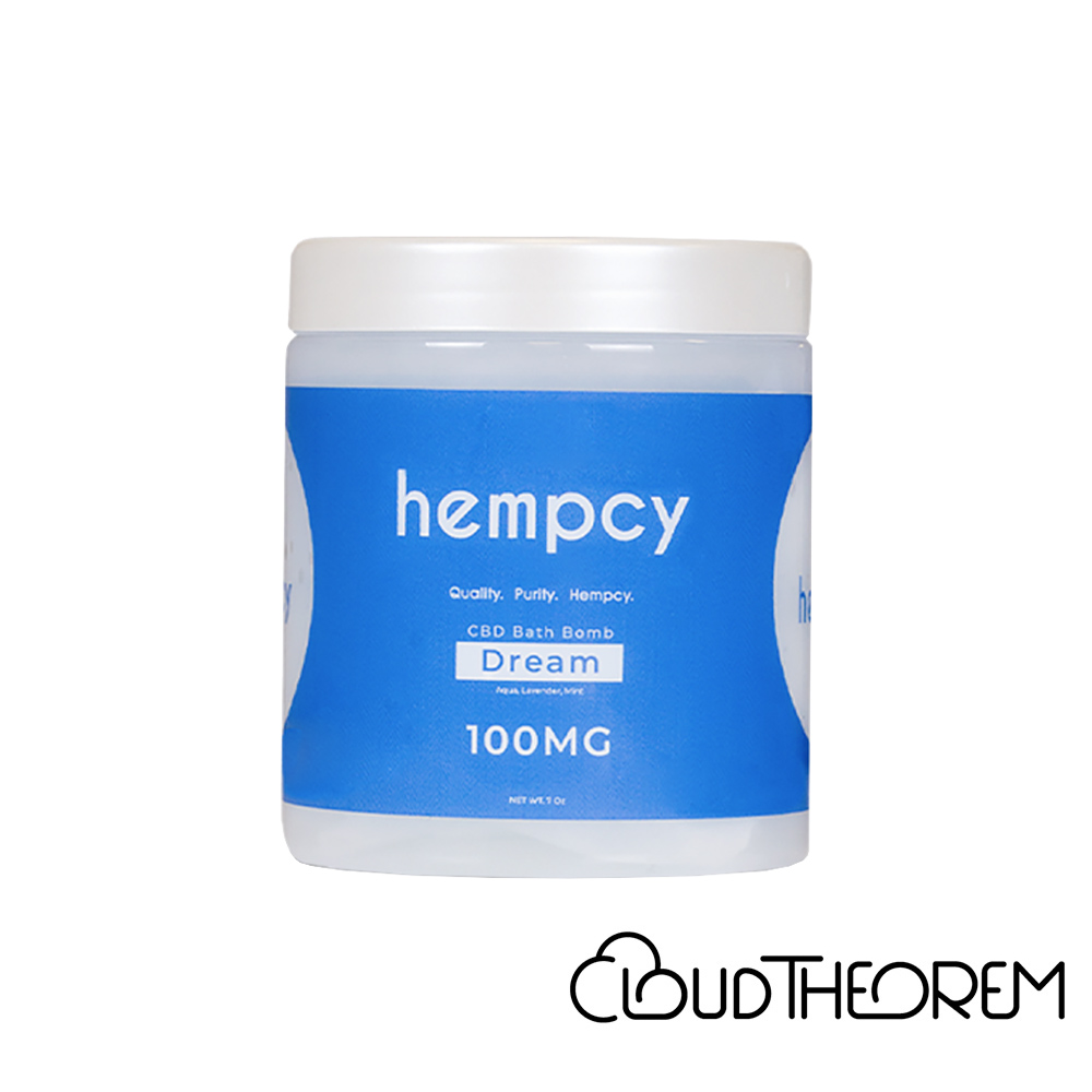 Hempcy CBD Bath Dream Bath Bomb Lab Report