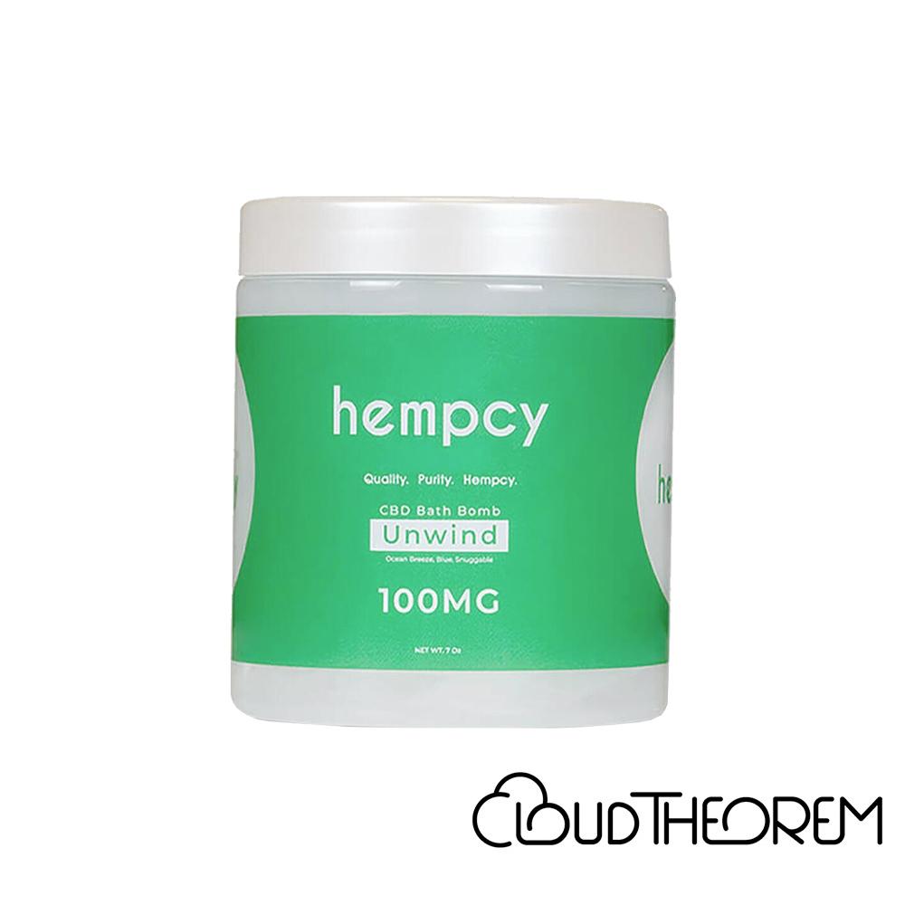Hempcy CBD Bath Unwind Bath Bomb Lab Report