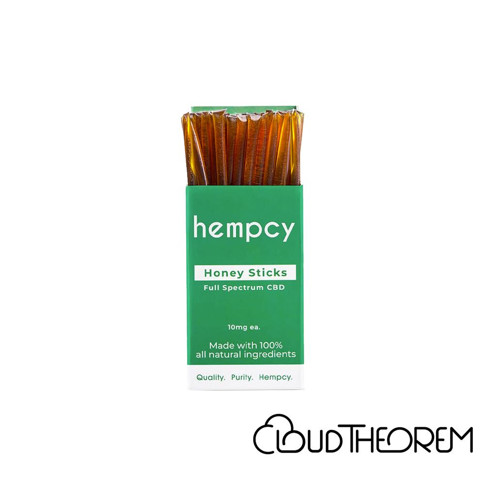 Hempcy CBD Edible Honey Sticks 10 Count Lab Report