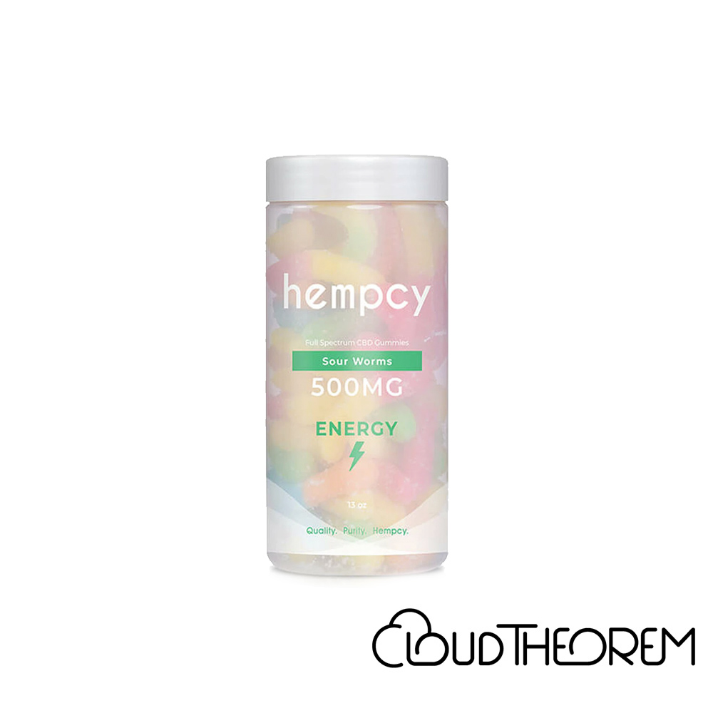 Hempcy CBD Edible Sour Worm Gummies Lab Report