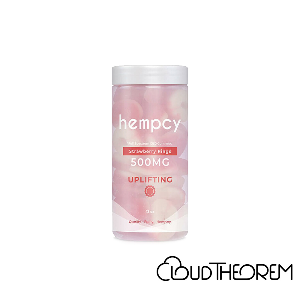 Hempcy CBD Edible Strawberry Ring Gummies Lab Report