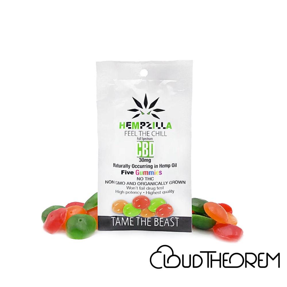 Hempzilla CBD Edible Gummies Lab Report