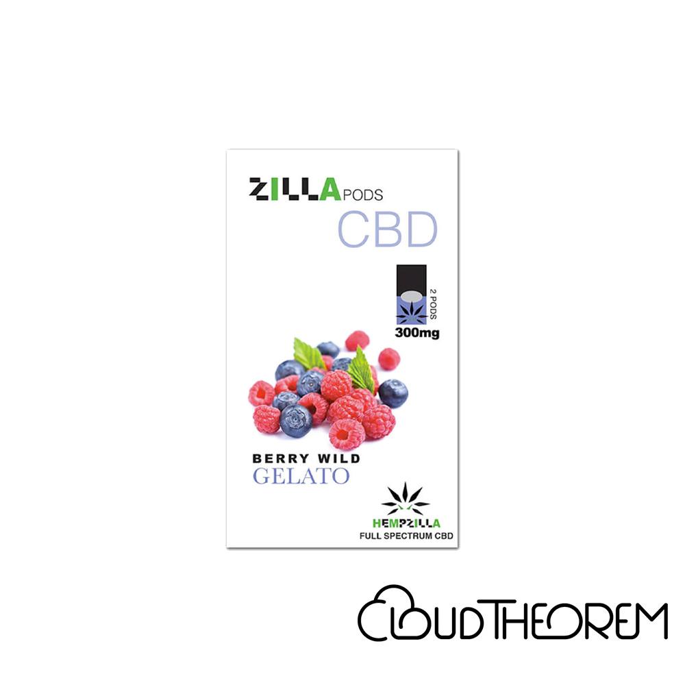 Hempzilla CBD Pod Berry Wild Gelato Zilla Pods Lab Report