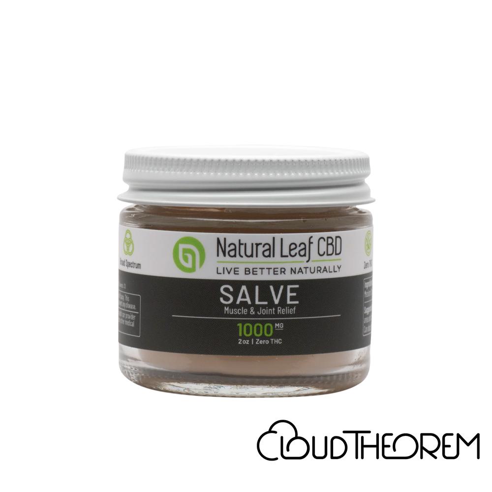 Natural Leaf CBD Topical Salve Lab Report