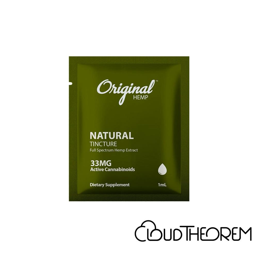 Original Hemp CBD Tincture Natural Lab Report
