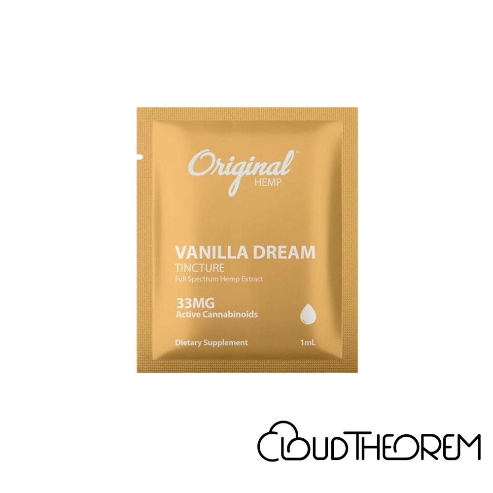 Original Hemp CBD Tincture Vanilla Dream Lab Report