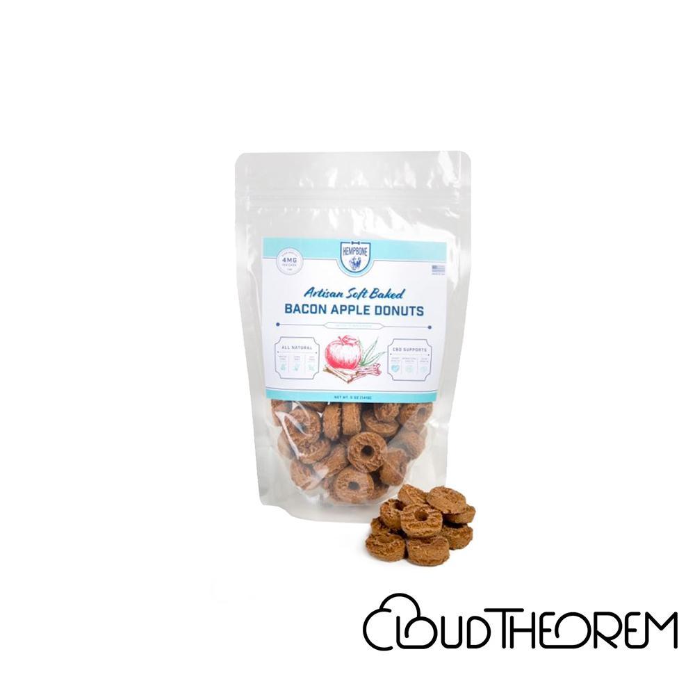 PHYTO Animal Health™ CBD Pet Edible HempBones Bacon Apple Donuts Treats Lab Report