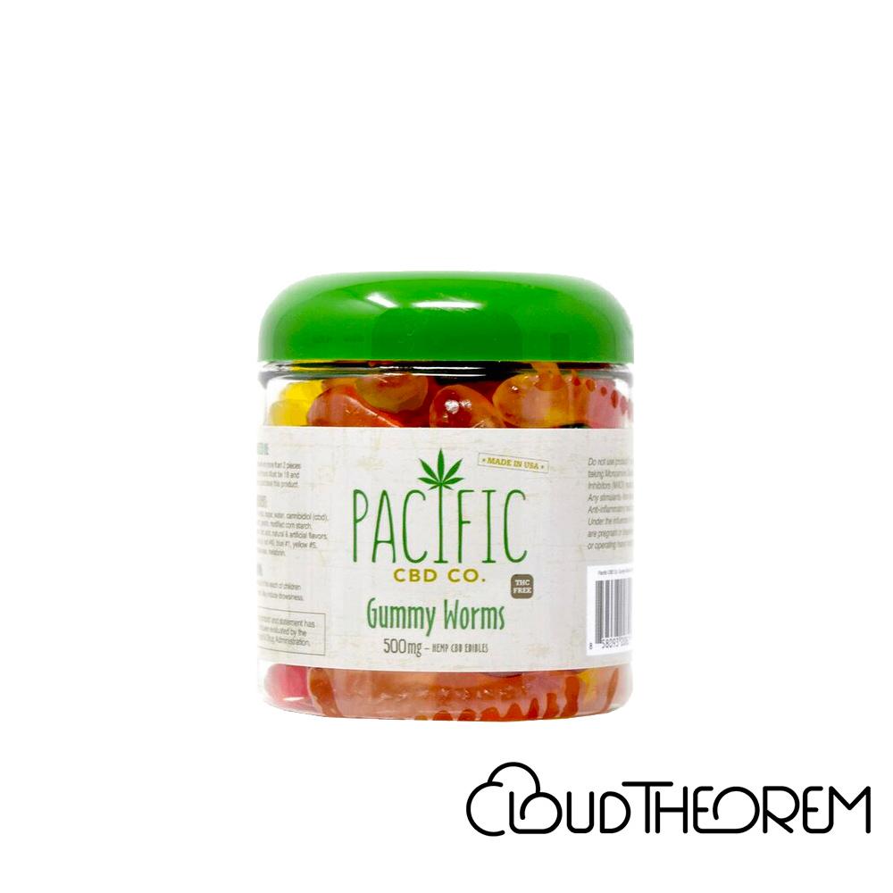 Pacific CBD Edible Gummy Worms Lab Report