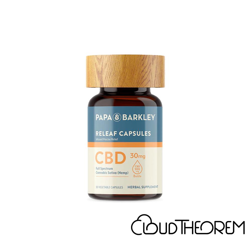 Papa & Barkley CBD Capsules Full Spectrum Releaf Caps Lab Report