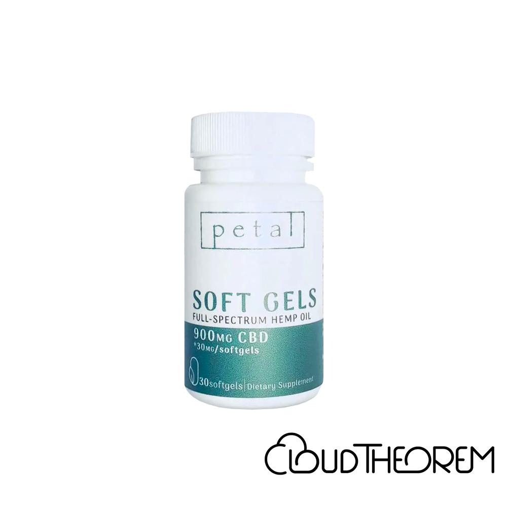 Petal CBD Capsule Full Spectrum Soft Gels Lab Report