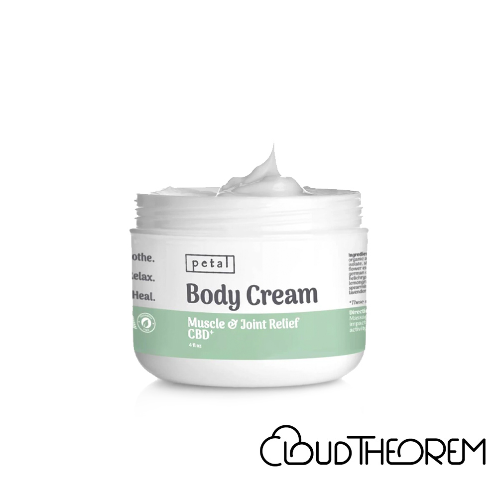 Petal CBD Topical Muscle & Joint Pain Relief Cream Lab Report