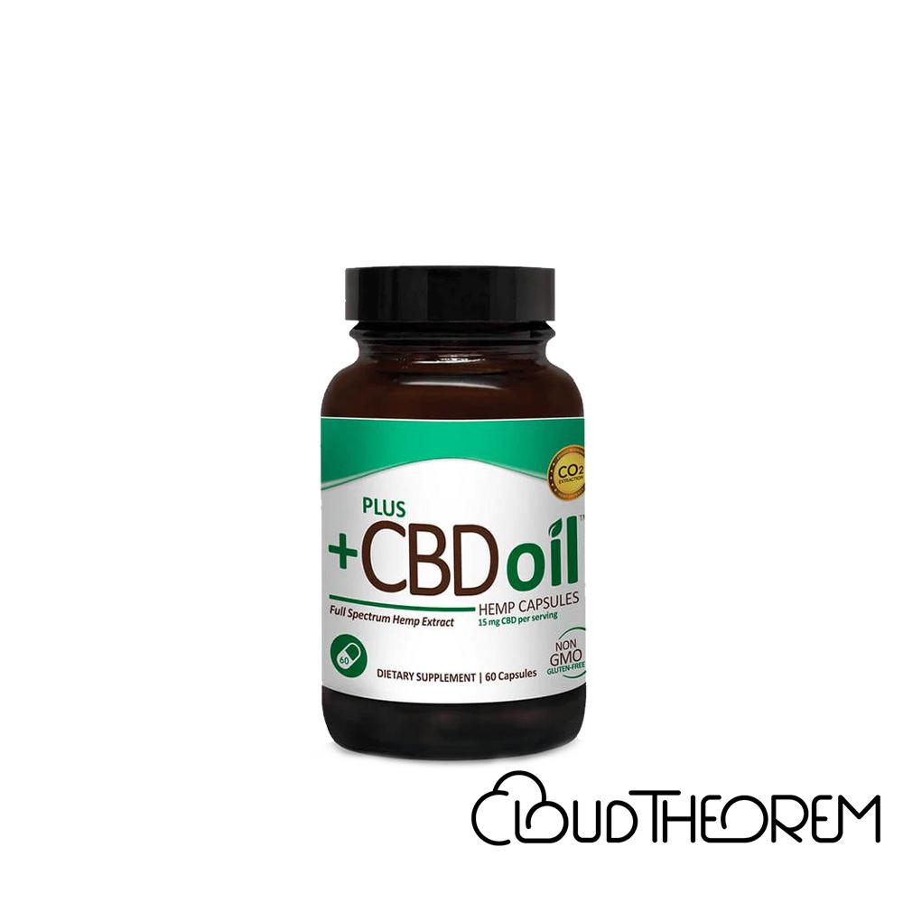 PlusCBD Oil CBD Capsules Green Blend Full Spectrum Lab Report