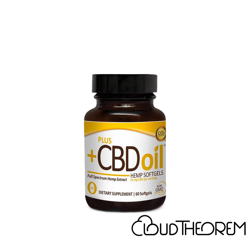 PlusCBD Oil CBD Softgels Gold Blend Full Spectrum Lab Report
