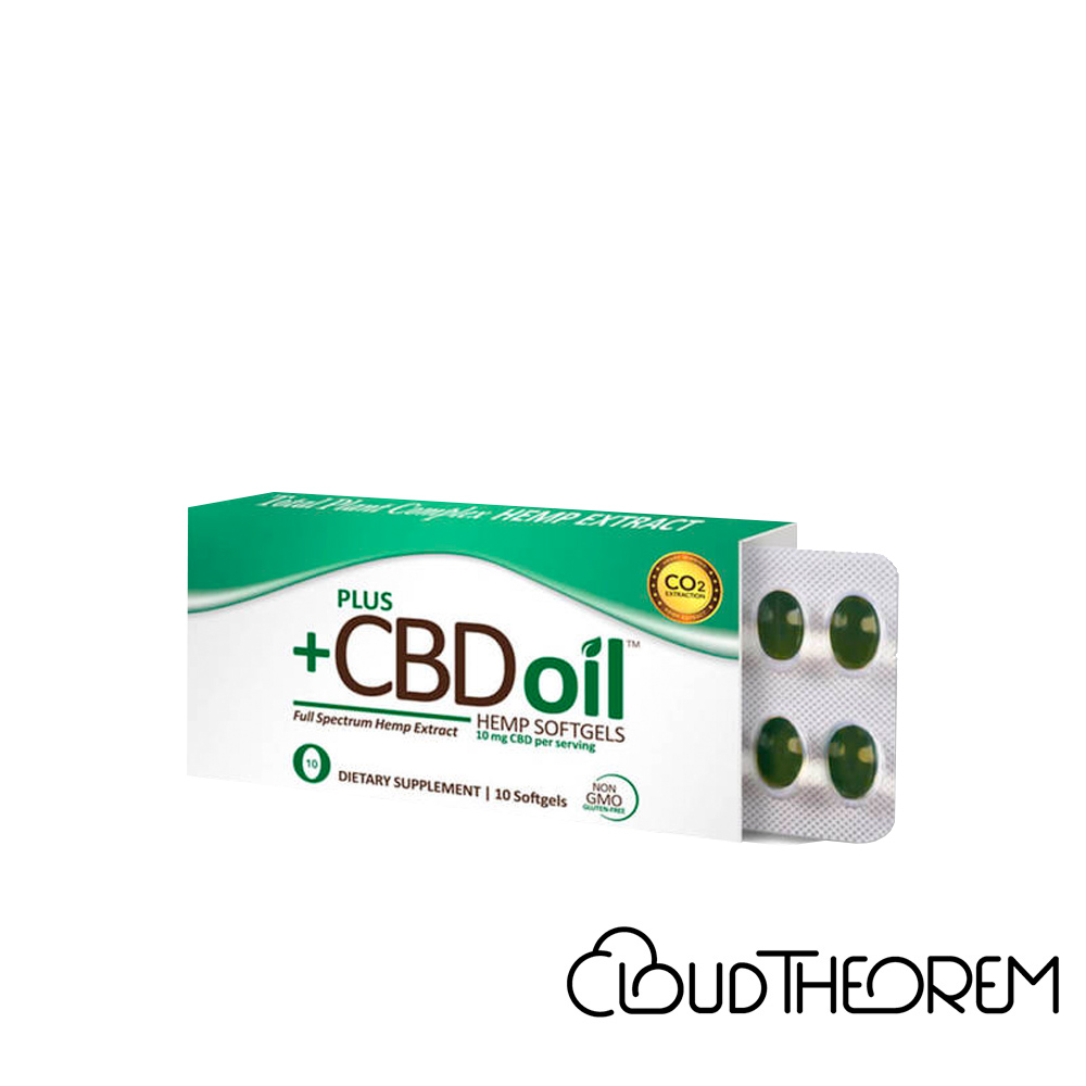 PlusCBD Oil CBD Softgels Green Blend Full Spectrum Lab Report