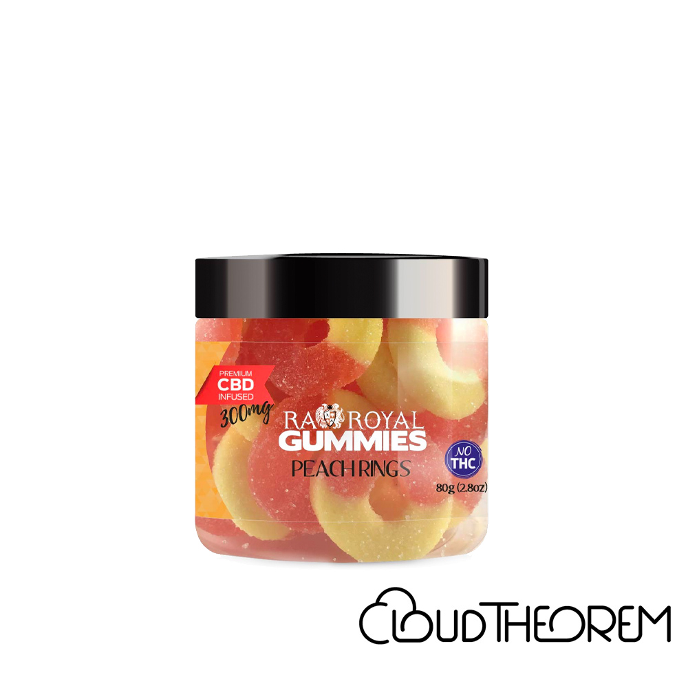 RA Royal CBD Edible Peach Ring Gummies Lab Report