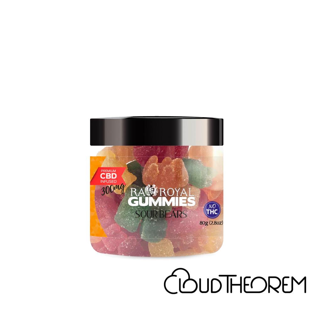 RA Royal CBD Edible Sour Bears Gummies Lab Report