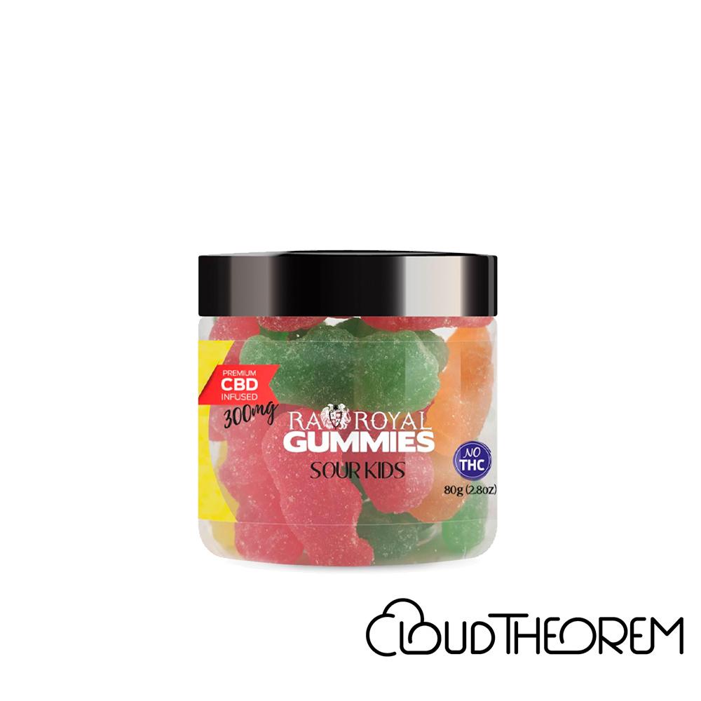 RA Royal CBD Edible Sour Kids Gummies Lab Report