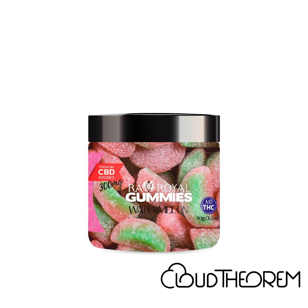 RA Royal CBD Edible Watermelon Gummies Lab Report